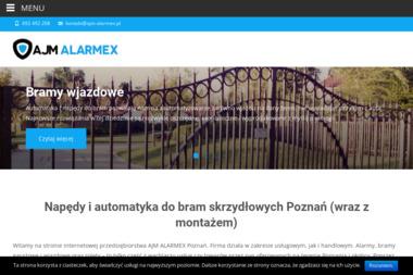 AJM Alarmex - Automatyka Domu Poznań