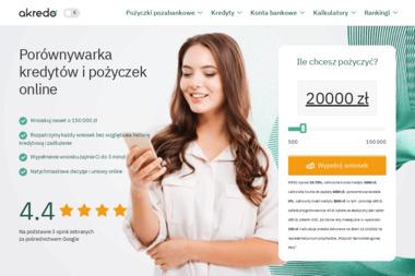 Akredo - Kredyt gotówkowy Warszawa