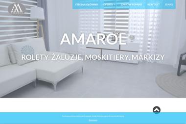 AMAROL - Rolety zewn臋trzne Tarnów