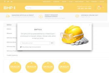BHP First - Haftowanie na Ubraniach Chorzelów