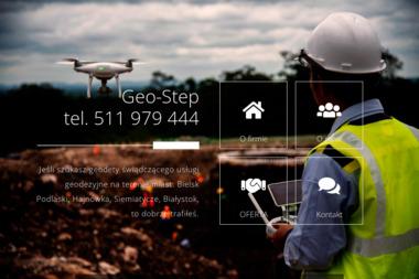 Geo-Step Usługi Geodezyjne i Kartograficzne mgr inż. Piotr Stepaniuk - Geodeta Bielsk Podlaski