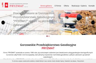Gorzowskie Przedsiębiorstwo Geodezyjne PRYZMAT Sp. z o.o. - Geodeta Gorzów Wielkopolski
