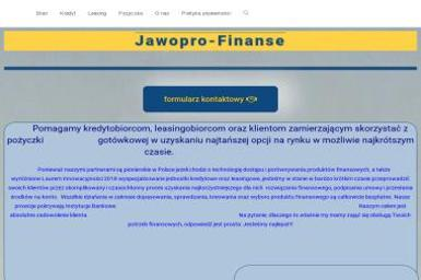 Jawoprofinanse - Kredyt Wrocław