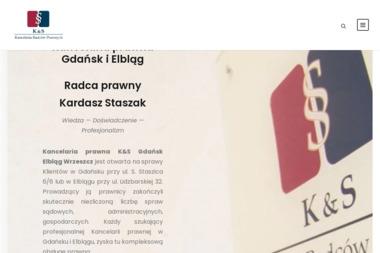 K&S Kancelaria Radców Prawnych Kardasz Staszak Sp.p. - Obsługa prawna firm Gdańsk