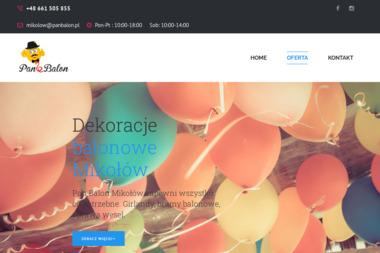Pan Balon Mikołów - Usługi Dekorowania Wnętrz Mikołów