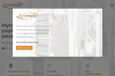 Arimex PWC Sp. z o.o. - Dla przemysłu maszynowego Błotnica strzelecka