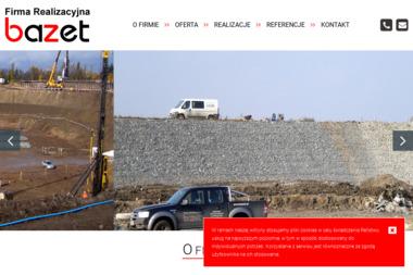 Firma Realizacyjna BAZET Sp. z o.o. Sp.k. - Geolog Pawłowice