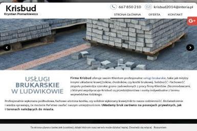 Krisbud - Układanie kostki granitowej Andrespol
