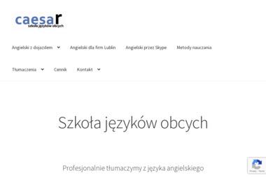 CAESAR - Szkoła Języków Obcych - Szkoła Językowa Lublin