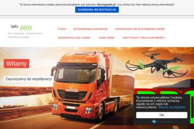 DRON Dorota Głuch - Transport ciężarowy krajowy Radom