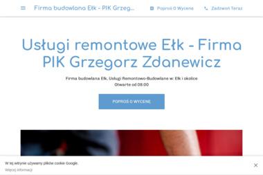 Usługi remontowo - budowlane PIK Grzegorz Zdanewicz - Gładzie Gipsowe Ełk