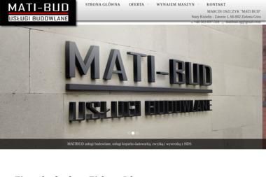 Mati Bud - Fundamenty Nowy kisielin