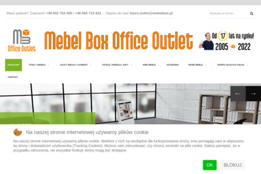 Mebel Box Office Outlet - Producent Mebli Wrocław