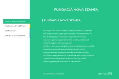 FUNDACJA NOVA SZANSA-KREDYTY - Pomoc Domowa Łódź