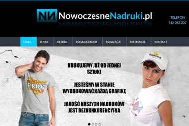 Nowoczesne Technologie Nadruków Na Odzieży Piotr Jaroszewski - Firmy odzieżowe Wyszków