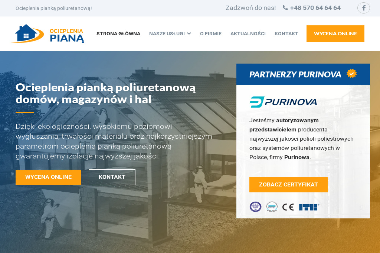 Ocieplenia pianą F.H.U. Skan Eksport Import - Elewacje i ocieplenia Siemianowice Śląskie