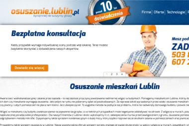 osuszanie.lublin.pl Łukasz Mazuś - Osuszanie Domów Lublin