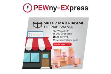 PEWny EXpress - przesyłki kurierskie - Usługi Transportowe Świebodzin