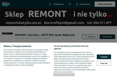 REFIT-POL Jacek Wajszczyk, Sklep REMONT i nie tylko... - Montaż drzwi Łódź