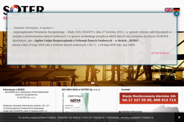 SOTER Sp. z o.o. - Agencja ochrony Kolbuszowa