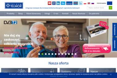 Telmor.pl - Montaż Anteny Satelitarnej Gdańsk