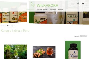 FIRMA HANDLOWA WILKAKORA I SUPLEMENTY - Zioła Jelonek