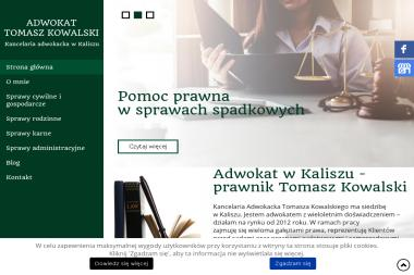 Kancelaria Adwokacka Tomasz Kowalski - Adwokat Kalisz
