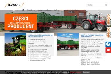 AKMET s.c. - Części do maszyn rolniczych Września