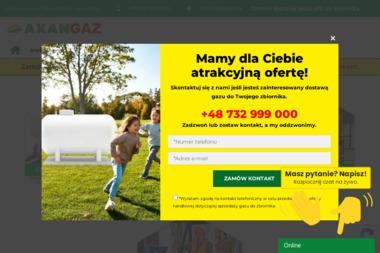 AXAN GAZ Sp. z o.o. Sp. k. - Propan Butan Grzegorzew
