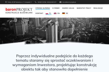 Baron-Projekt - Nadzorowanie Budowy Katowice