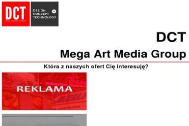 DCT- Mega Art Media Group - Logo Poznań