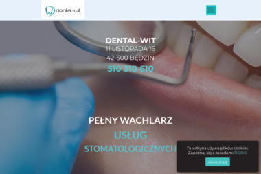 Gabinet stomatologiczny DENTAL-WIT - Stomatolog  Będzin