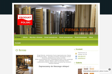 FIRMA KRUK - Skład drewna Olsztyn