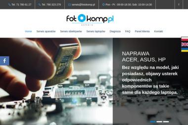 Serwis aparatów, komputerów Fotokomp Wrocław - Serwis RTV Wrocław