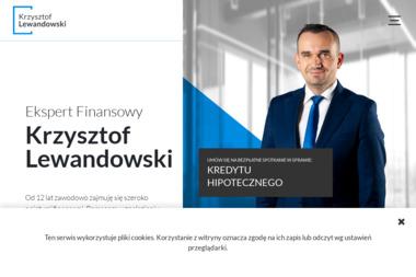 Krzysztof Lewandowski - Ekspert Finansowy. Kredyty hipoteczne, gotówkowe, Ubezpieczenia, - Agencja nieruchomości Piła