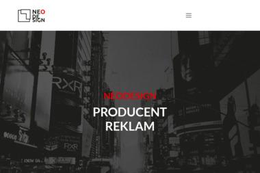 NEODESIGN - Producent reklam - Materiały reklamowe Frysztak