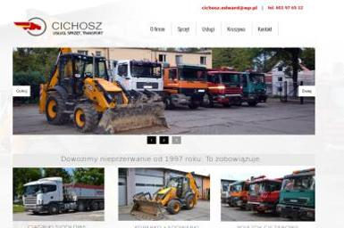 Usługi Sprzętowo Transportowe CICHOSZ - Kopanie Studni Trzebnica