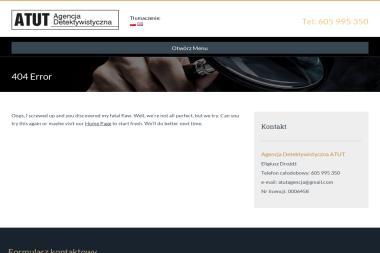 Agencja Detektywistyczna ATUT - Kancelaria prawna Oława