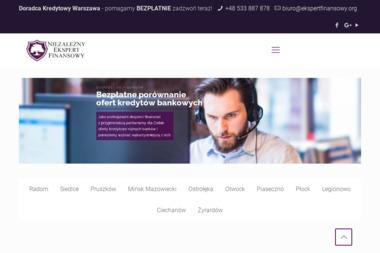 NIEZALEŻNI DORADCY FINANSOWI - Kredyt konsolidacyjny Warszawa