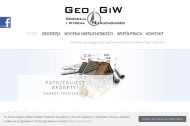 GeoGiW Geodezja i Wycena Nieruchomości Agnieszka Główczyk - Firma Geodezyjna Nowy Sącz