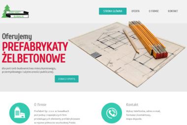 Prefabet Sp. z o.o. - Elementy Ogrodzeniowe Betonowe Suwałki