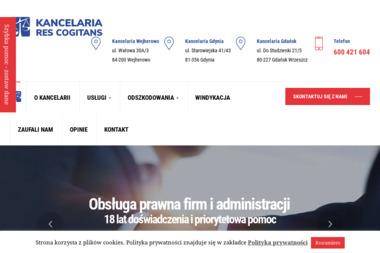 Kancelaria Prawna Res Cogitans Sp. z o.o. - Obsługa prawna firm Bożepole Wielkie