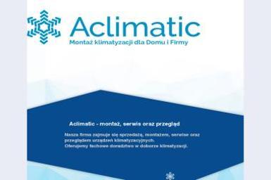 Aclimatic - Klimatyzacja Świętochłowice