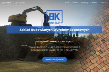 Zakład Wyrobów Betonowych Beton-Kolor - Wyburzanie Budynków Strzyżowice