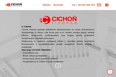 """""""CICHOŃ FINANSE"""" Alan Cichoń - Leasing Świerczów"""