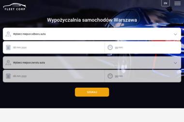 Fleet Corp Sp. Z o.o. - Wypożyczalnia samochodów  Warszawa