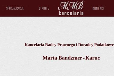 Kancelaria Radcy Prawnego i Doradcy Podatkowego Marta Bandzmer - - Biuro rachunkowe Gdynia