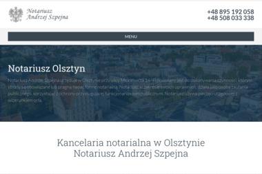 Kancelaria notarialna Andrzej Szpejna - Notariusz Olsztyn