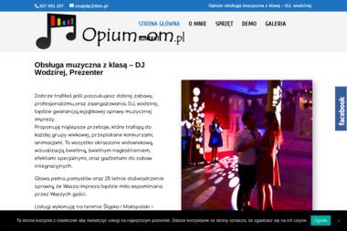 Opium - obsługa muzyczna - Zespół muzyczny Godziszka