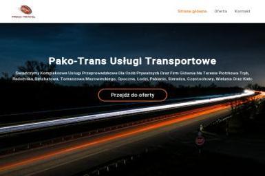 Pako-Trans - Przeprowadzki Aleksandrów
